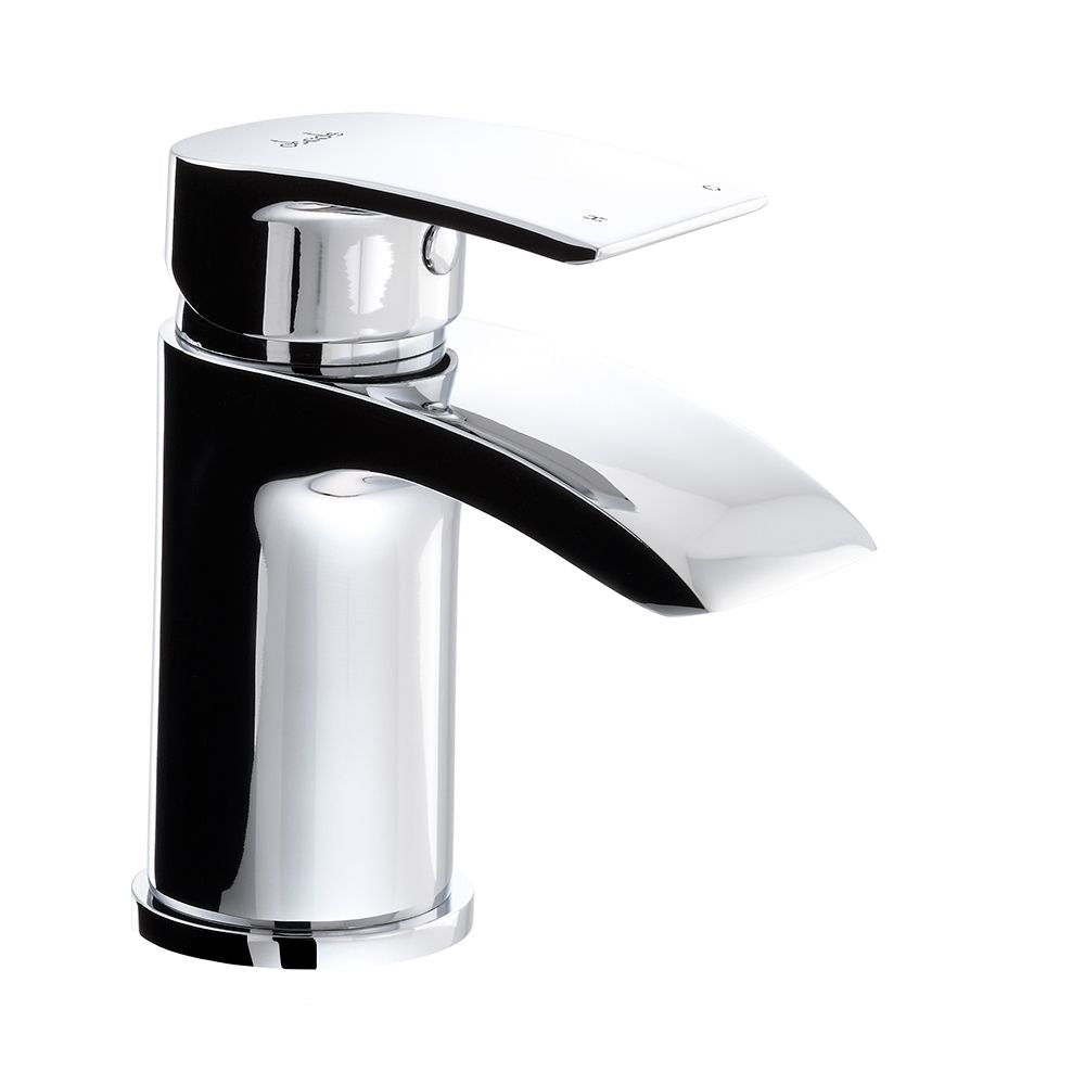 Abode LOOP Mini Basin Monobloc Mixer Tap in Chrome
