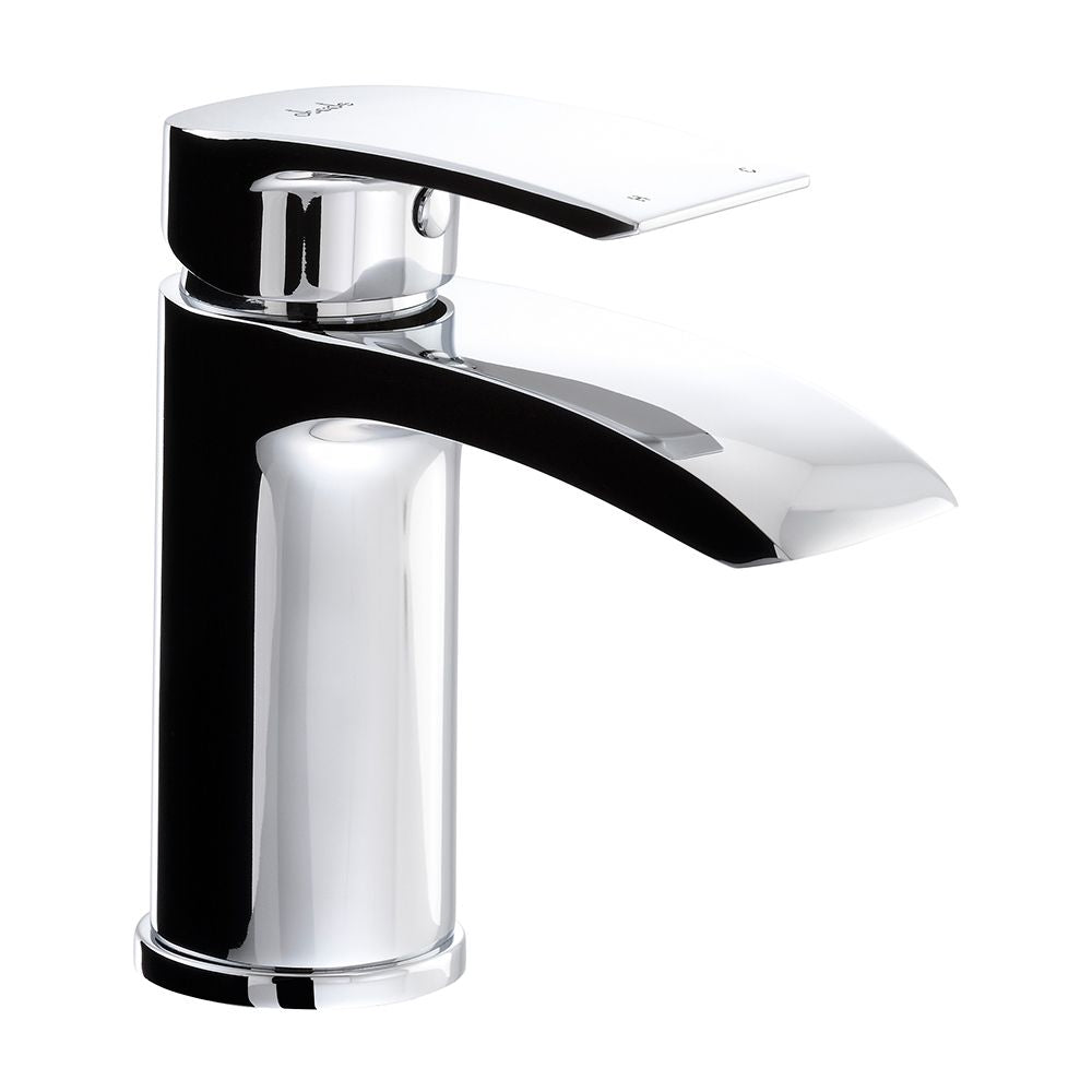 Abode LOOP Basin Monobloc Mixer Tap in Chrome