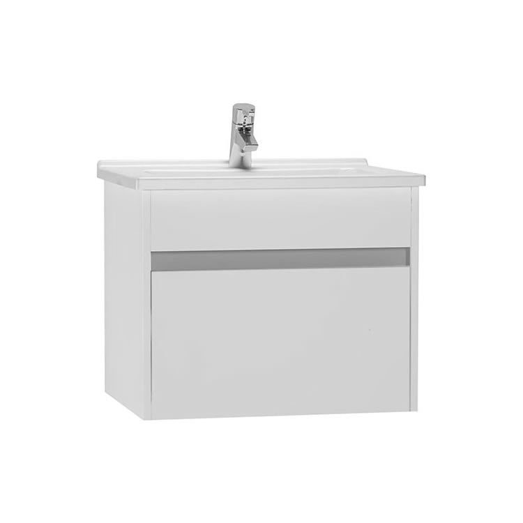 S50 600mm Single Drawer Unit and Basin - blueskybathrooms
