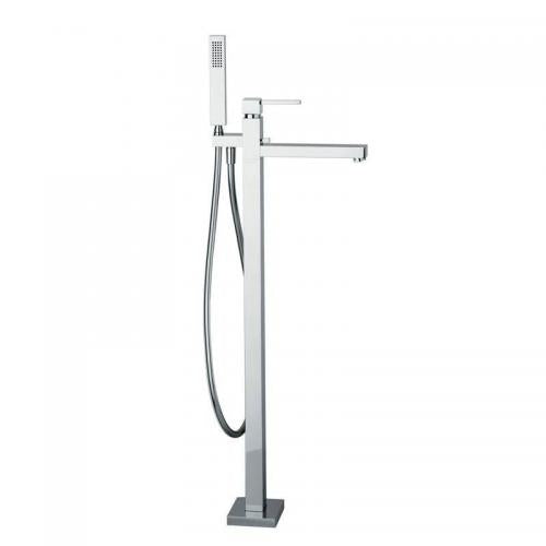 Zeal Freestanding Bath Shower Mixer - blueskybathrooms