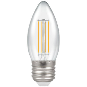 Crompton 5W Warm White ES Clear Candle Dimmable LED Filament
