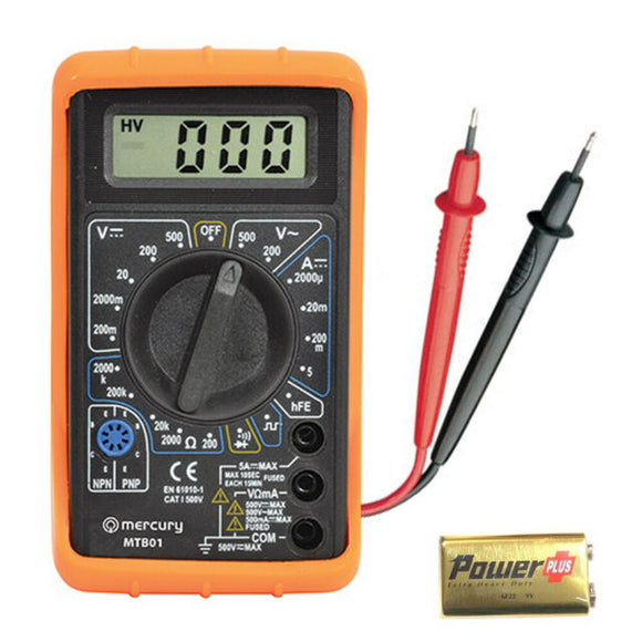 Mercury Digital Multi-Tester