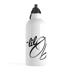 """Lil Bams"" Stainless Steel Water Bottle"