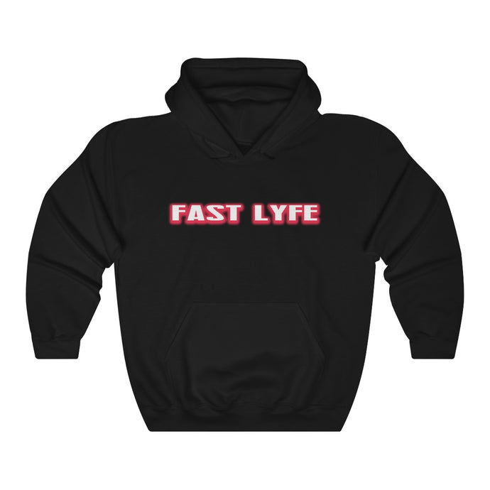 Fast Lyfe Red Hoodie