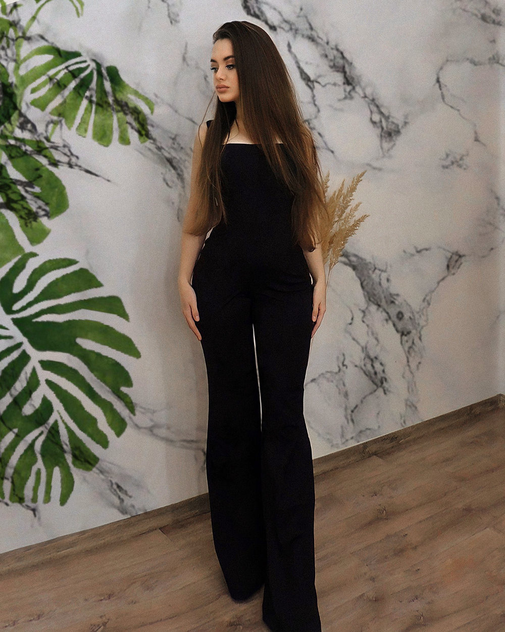 Sleeveless Flare Trouser Jumpsuit - LEPITON