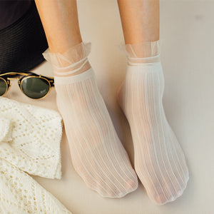 Cute Thin Mesh Socks