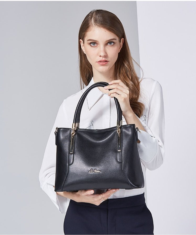 Luxury Leather Handbag - LEPITON