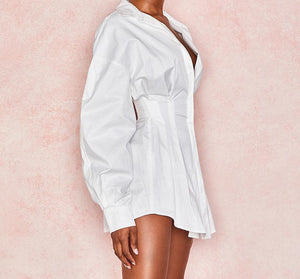 Batwing Sleeve Mini Dress