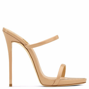 Open Toe Thin Heel Shoes - LEPITON