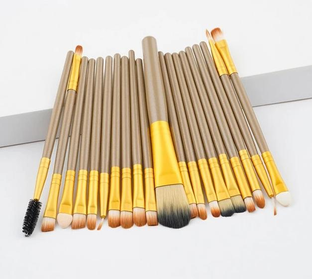 Salon-Grade Professional Makeup Brushes