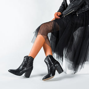 Pointed Ankle Boots - LEPITON