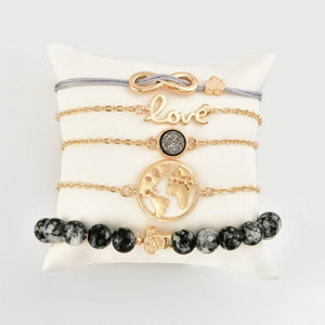 World Map Bracelet (32 Different Styles)