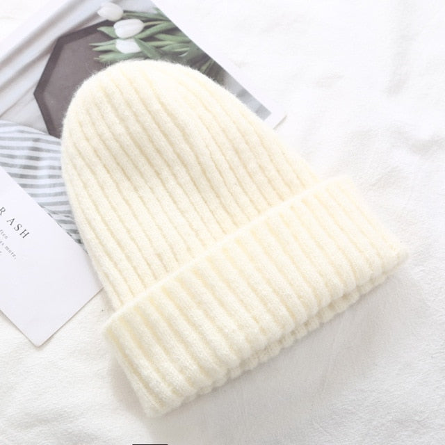 Knitted Thick Warm Beanie - LEPITON