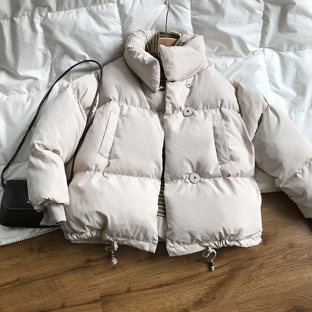 Thick Candy Colours Oversize Jacket