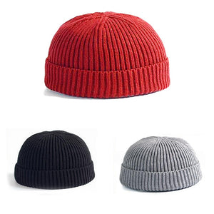 Knitted Soft Wool Beanie