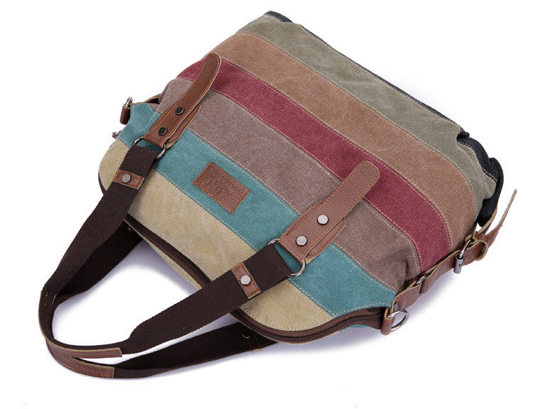 Canvas Shoulder Bag
