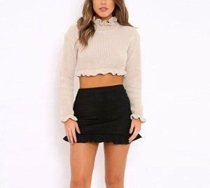 Long Sleeve Sweater Top - LEPITON