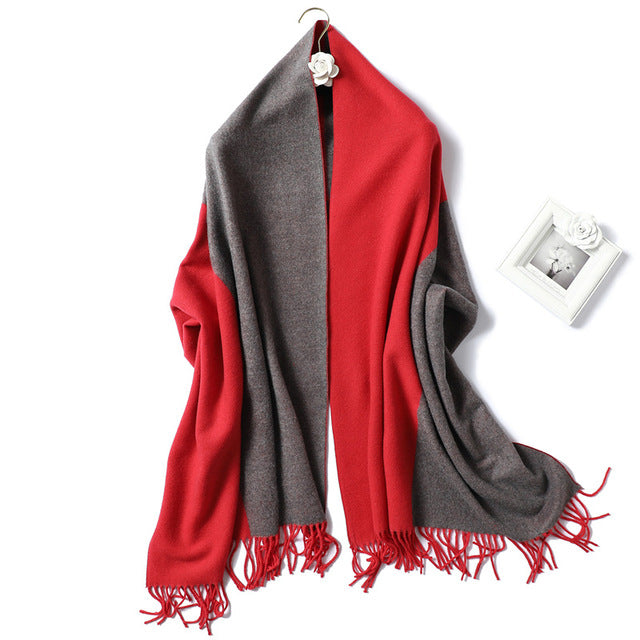 Cashmere Thick Warm Soft Scarf