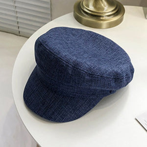 Plaid Newsgirl Cap - LEPITON
