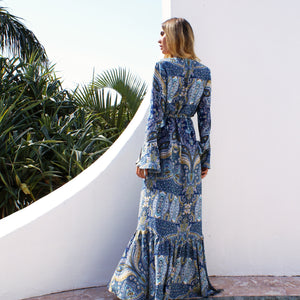 Bohemian Hippie Chic Maxi Dress