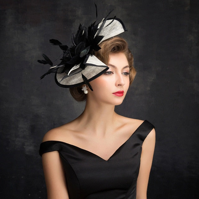 Sinamay Fascinator Hat