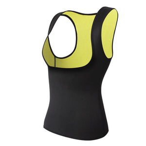 Sleeveless Neoprene Exercise Shaper Vest
