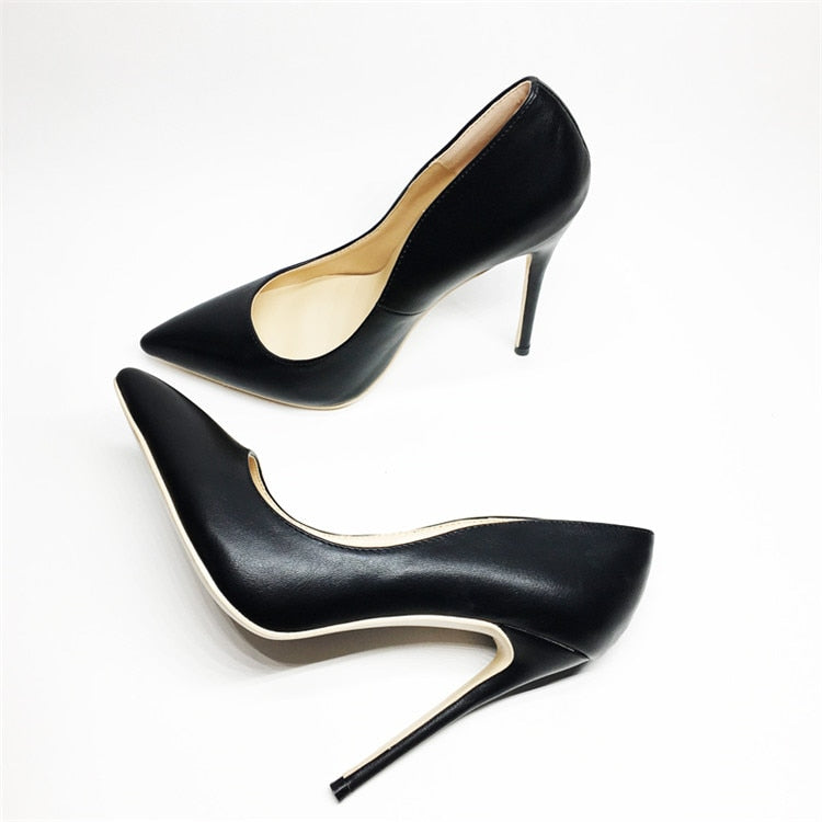 Thin high-heel pointed-toe shoes - LEPITON