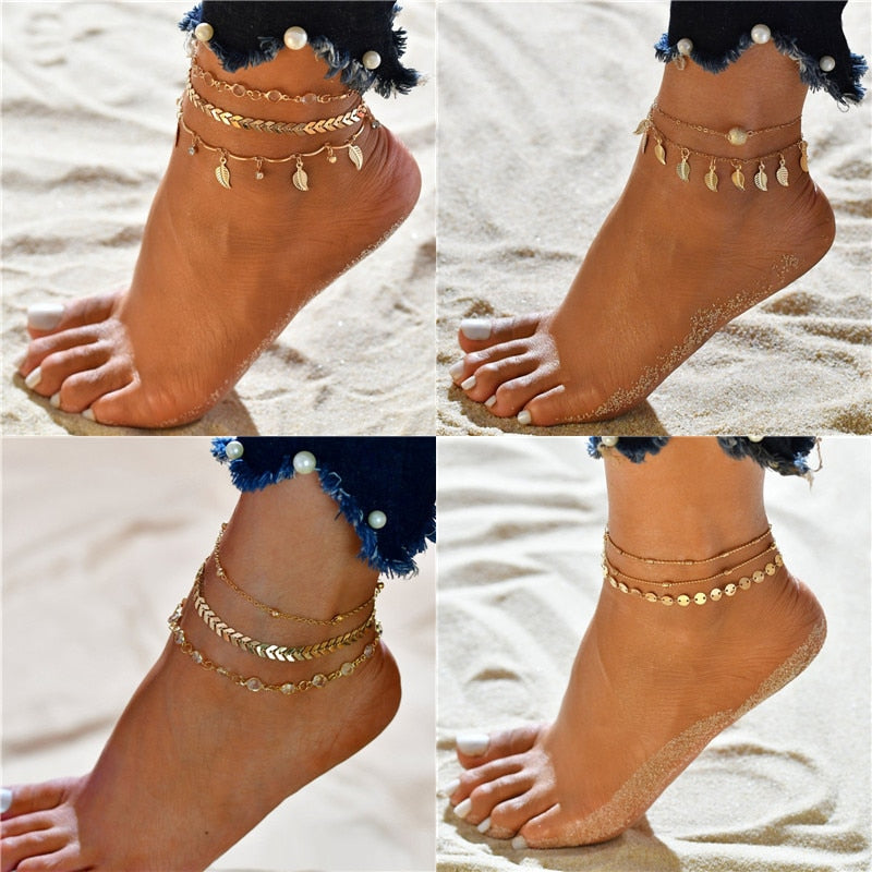 Bohemian Beads Ankle Bracelet (18 Different Styles) - LEPITON