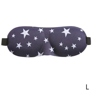 Stylish and Comfortable 3D Sleep Mask