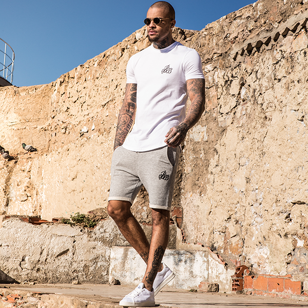 Signature tee and shorts