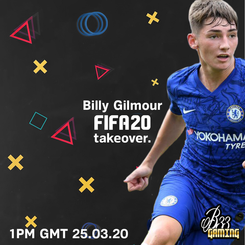 Billy Gilmour plays Bee Inspired Games