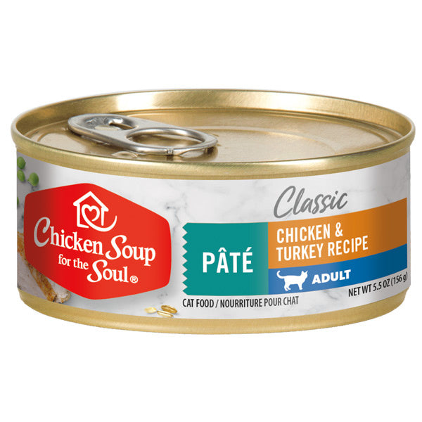 Chicken Soup For The Soul Adult Canned Cat Food