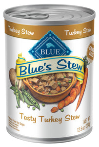 Blue Buffalo Blue's Tasty Turkey Stew Canned Dog Food
