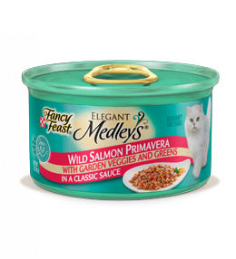 Fancy Feast Elegant Medleys Salmon Primavera Canned Cat Food