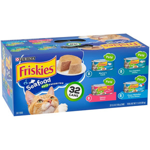 Friskies Seafood Variety Pack Canned Cat Food