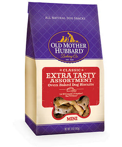 Old Mother Hubbard Crunchy Classic Natural Extra Tasty Assortment Mini Biscuits Dog Treats