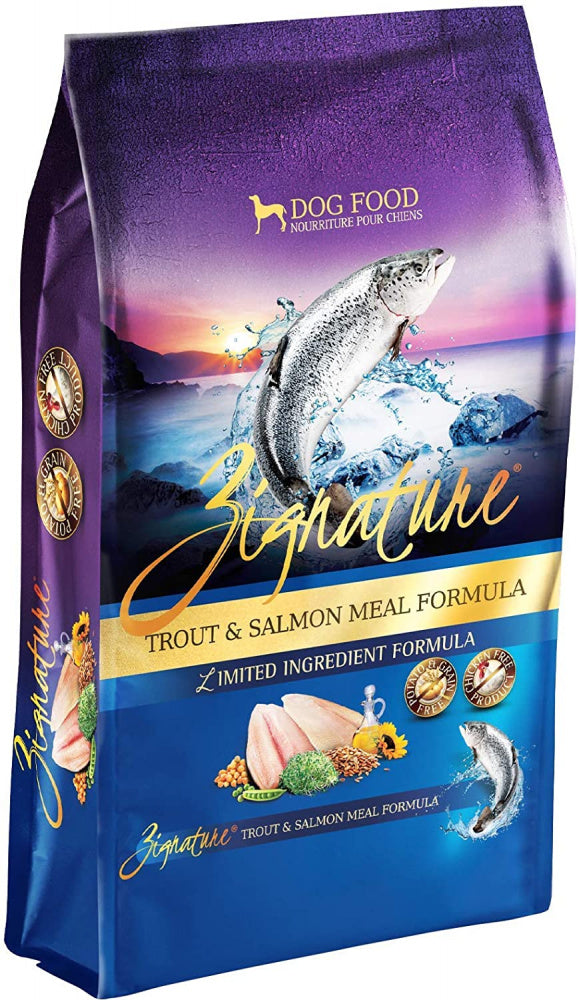 Zignature Trout & Salmon Meal Formula Dry Dog Food