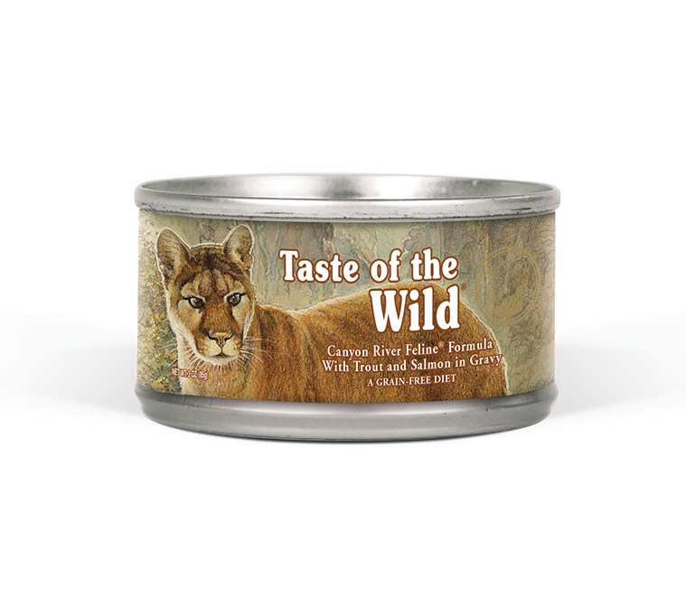 Taste of the Wild Canyon River Canned Cat Food