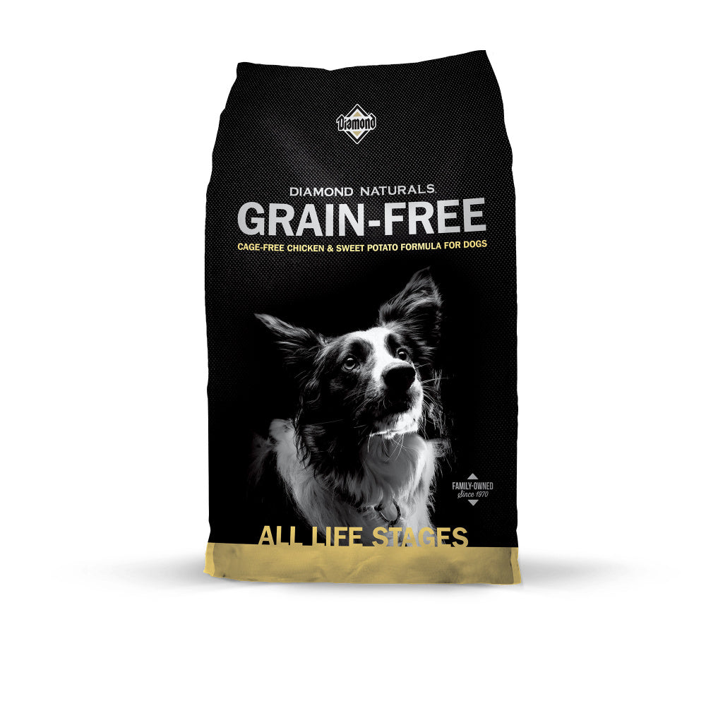 Diamond Naturals Grain Free Chicken & Sweet Potato Dry Dog Food