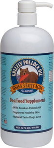 Grizzly Pollock Oil for Dogs