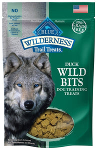 Blue Buffalo Wilderness Trail Treats Duck Wild Bits Dog Treats