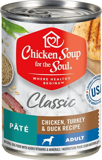 Chicken Soup For The Soul Adult Canned Dog Food