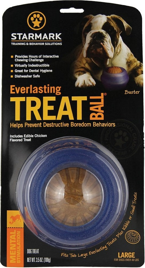 Starmark Everlasting Treat Ball Dog Chew Toy
