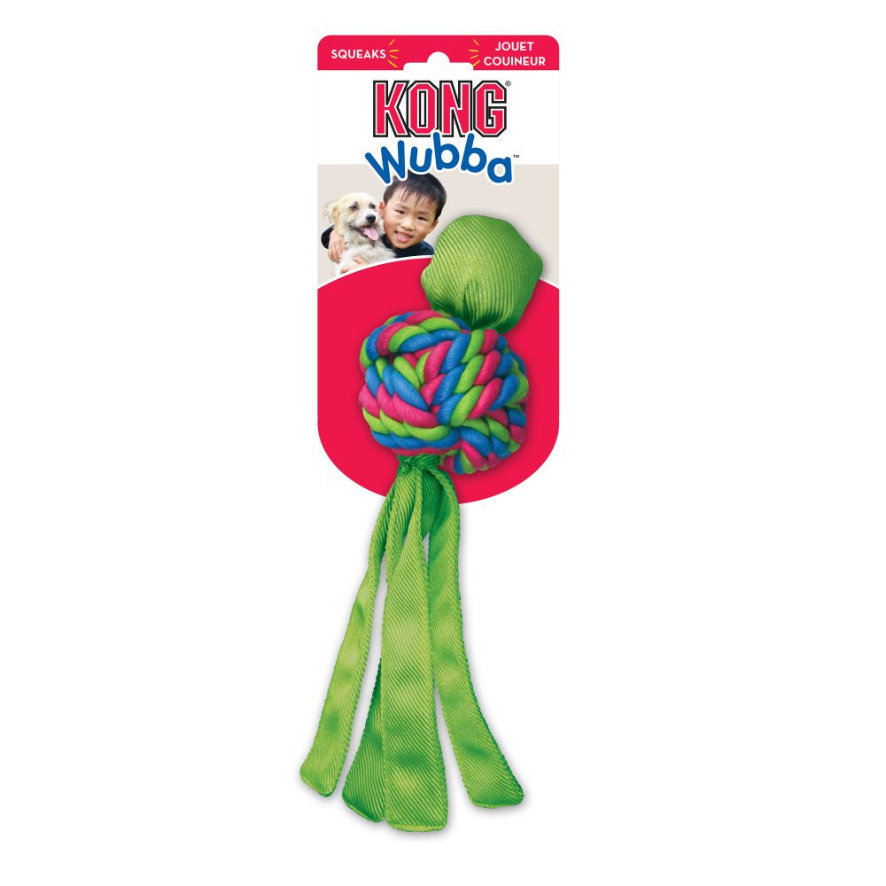KONG Wubba Weave Dog Toy