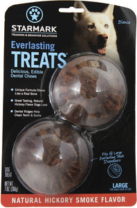 Starmark Everlasting Treats Natural Hickory Smoke Flavor Dog Dental Chews