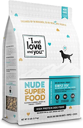 I and Love and You Grain Free Nude Super Food Simply Sea Dry Dog Food