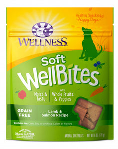 Wellness Moist & Tasty Lamb & Salmon Bites
