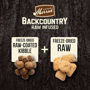 Merrick Backcountry Raw Infused Grain Free Large Breed Recipe Dry Dog Food
