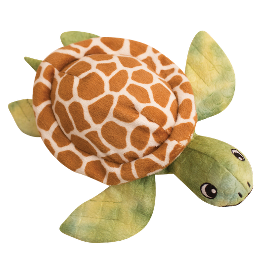 Snugarooz Shelldon the Turtle Plush Dog Toy