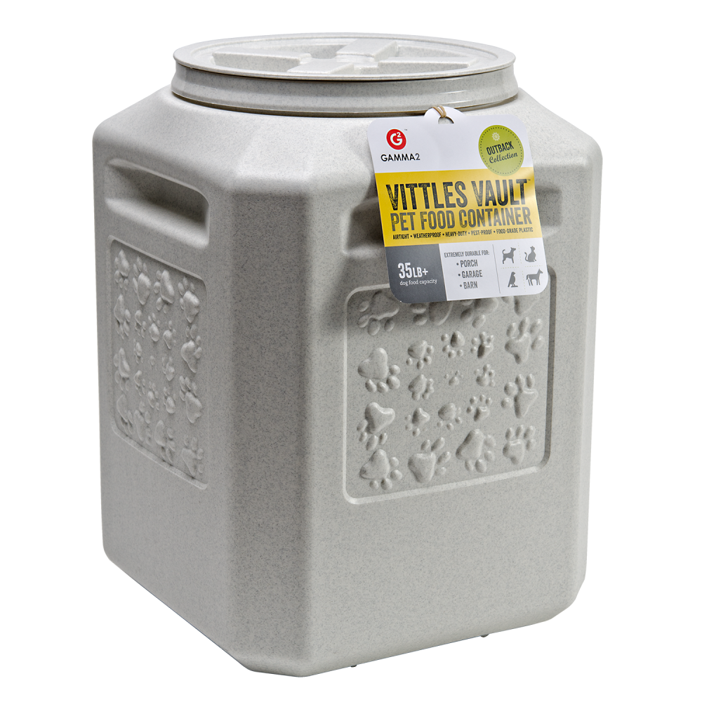 Gamma2 Outback Vittles Vault Plus Pet Food Storage Container